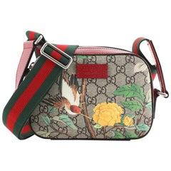 Gucci Camera Shoulder Bag Tian Print GG Coated Canvas Mini