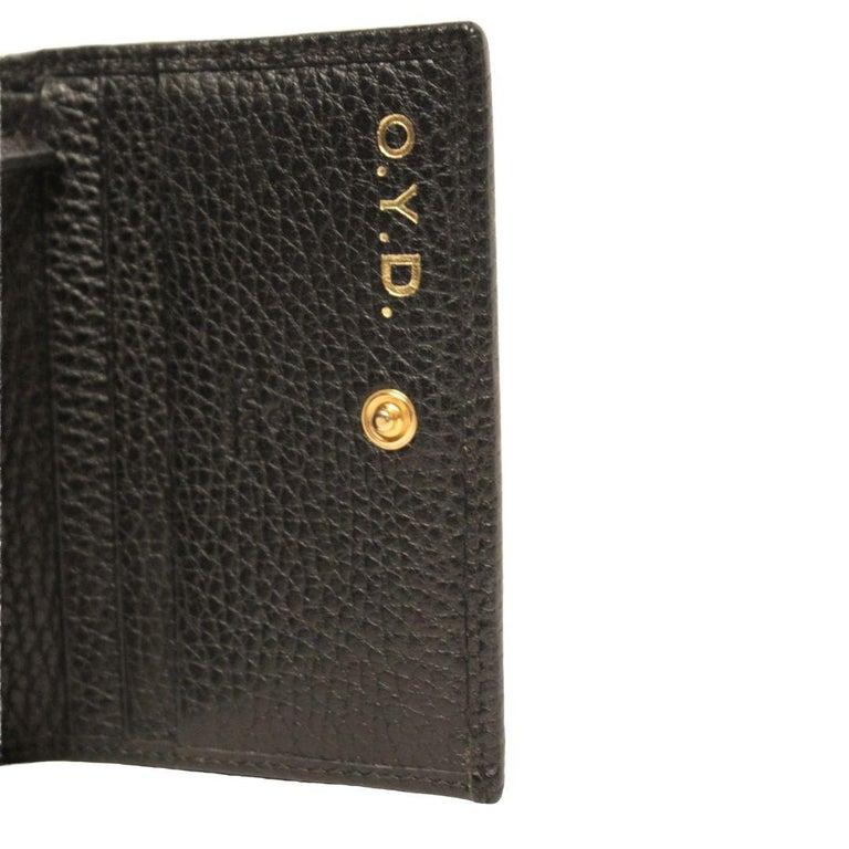 Black Gucci Card Case Wallet