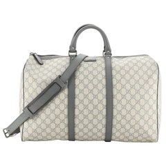 Gucci Carry On Convertible Duffle Bag GG Coated Canvas Small