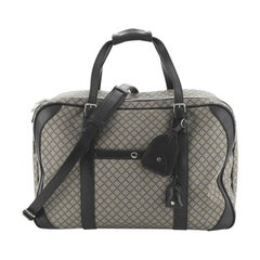 Gucci Carry On Suitcase Diamante Canvas with Leather Large