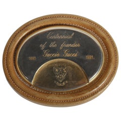 Gucci Centennial of the Founder Guccio Gucci Desk Paperweight