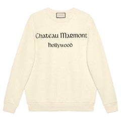 Gucci Chateau Marmont Printed Cotton-Jersey Sweatshirt