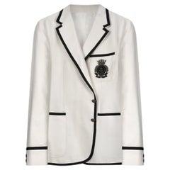 GUCCI CLASSIC WHITE Jacket 58 - 4XL