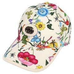 Gucci Claudia Flora Floral Hat