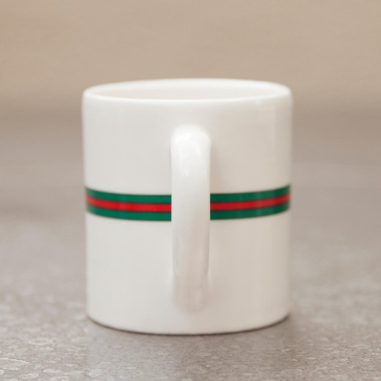 Porcelain Gucci Coffee Pot, Italy, 1970s For Sale