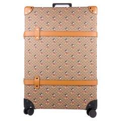 Gucci Cognac Mickey Mouse Men's Women's Carryon Travel Roller Bag Suitcase