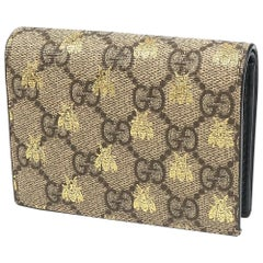 GUCCI compact Wallet Bee Folded wallet