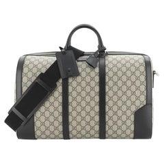 Gucci Convertible Duffle Bag GG Coated Canvas Medium