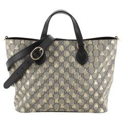 Gucci Convertible Soft Tote Printed GG Coated Canvas Small