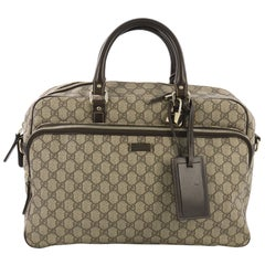 Gucci Convertible Travel Bag GG Coated Canvas Medium