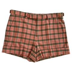 Gucci Cotton and Wool Check Short (Size 46) (494896)