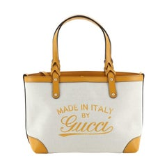 Gucci Craft Tote Canvas Small