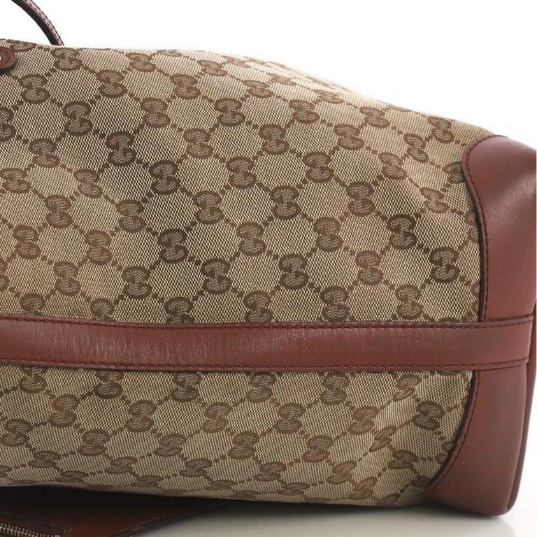 e84b0da7f7cfe7 Gucci Craft Tote GG Canvas Medium For Sale 6