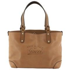 Gucci Craft Tote Leather Small