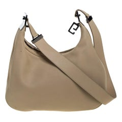 Gucci Cream White Leather Vintage Hobo