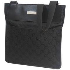 GUCCI cross body unisex shoulder bag 27639 black