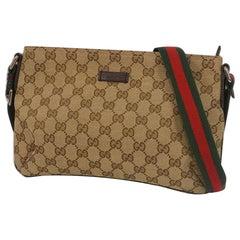 GUCCI cross body Womens shoulder bag 189749 001998 beige x brown