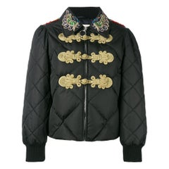 GUCCI Crystal Embellished Padded Jacket IT38 US 2-4