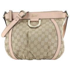 Gucci D Ring Messenger Bag GG Canvas Small