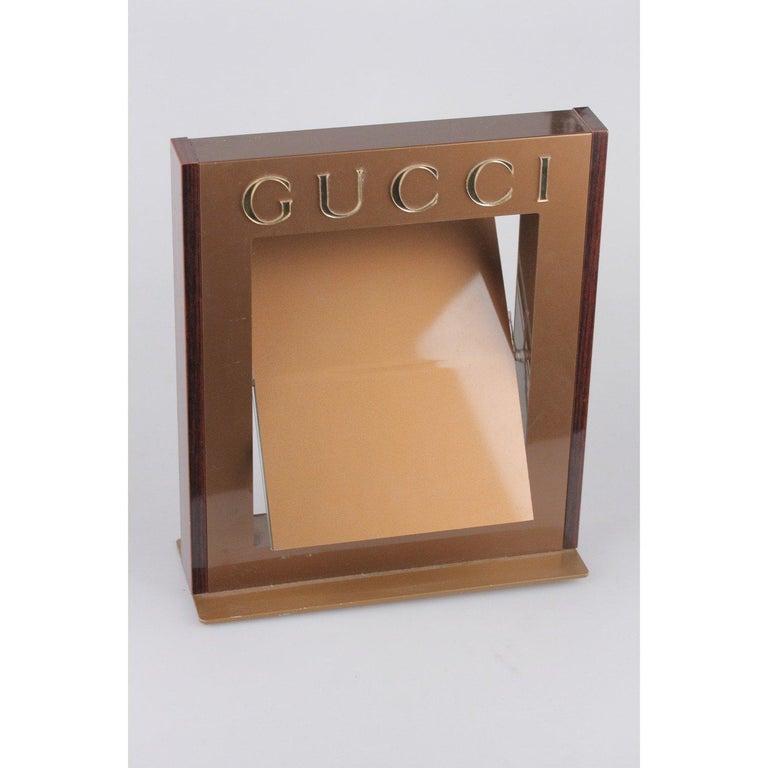 Women's GUCCI Dealer Store Display Pivotable MIRROR Rare For Sale