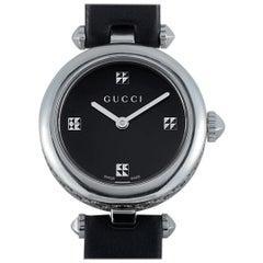 Gucci Diamantissima Black Dial Watch YA141506