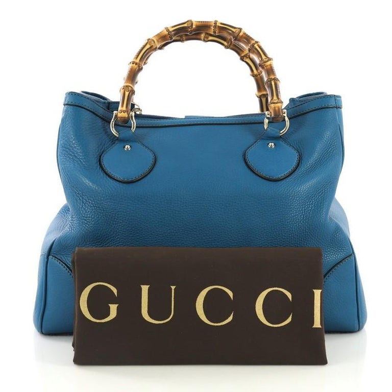 3b30363631710a Gucci Diana Bamboo Top Handle Tote Leather Medium For Sale at 1stdibs