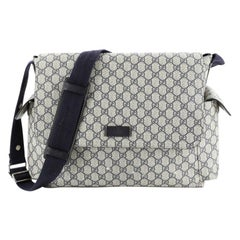 Gucci Diaper Bag GG Coated Canvas