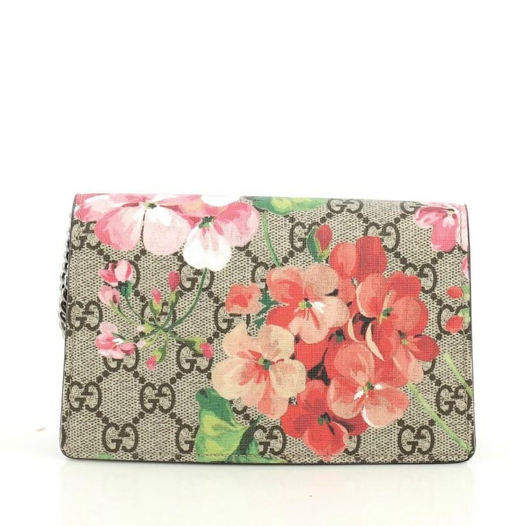 3aef4d133d Gucci Dionysus Bag Blooms Print GG Coated Canvas Super Mini