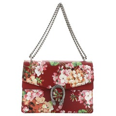 Gucci Dionysus Bag Blooms Print Leather Medium