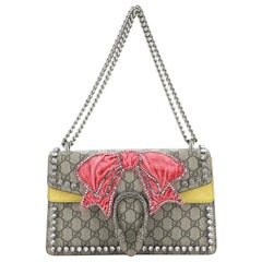 Gucci Dionysus Bag Crystal Embellished GG Coated Canvas Small