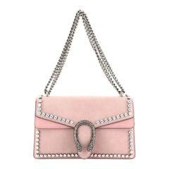 Gucci Dionysus Bag Crystal Embellished Suede Small