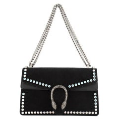 Gucci Dionysus Bag Crystal Embellished Suede Small