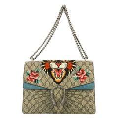 Gucci Dionysus Bag Embellished GG Coated Canvas Medium