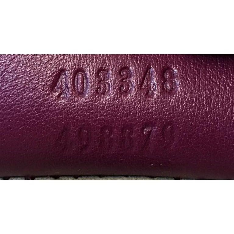 Gucci Dionysus Bag Embellished Python Medium For Sale 5