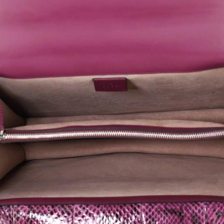 Gucci Dionysus Bag Embellished Python Medium For Sale 1