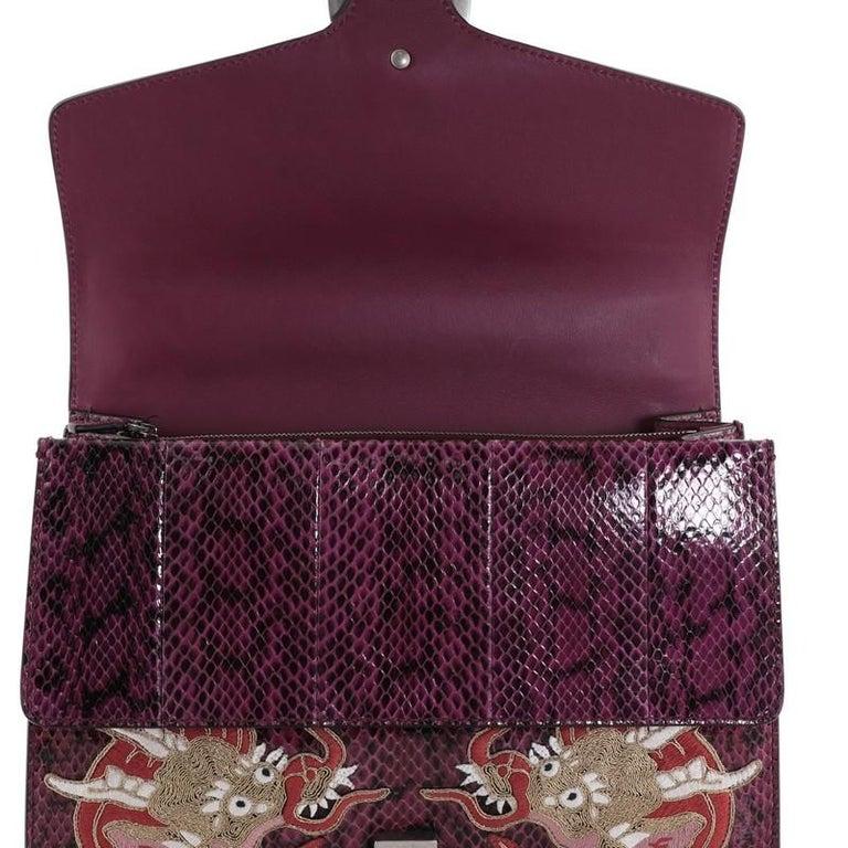 Gucci Dionysus Bag Embellished Python Medium For Sale 2