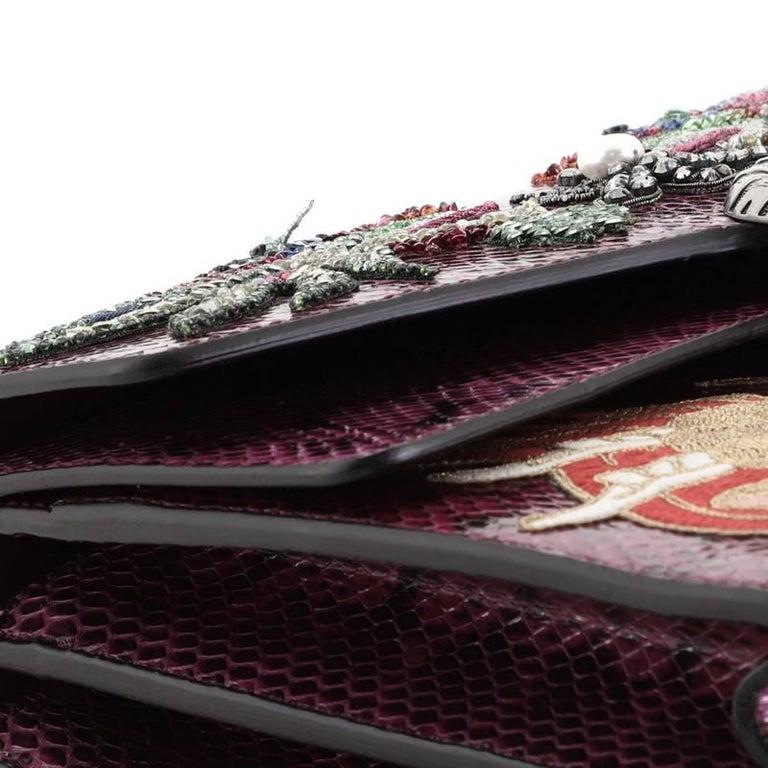 Gucci Dionysus Bag Embellished Python Medium For Sale 3