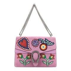 Gucci Dionysus Bag Embellished Suede Medium