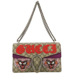 Gucci Dionysus Bag Embroidered GG Coated Canvas Small