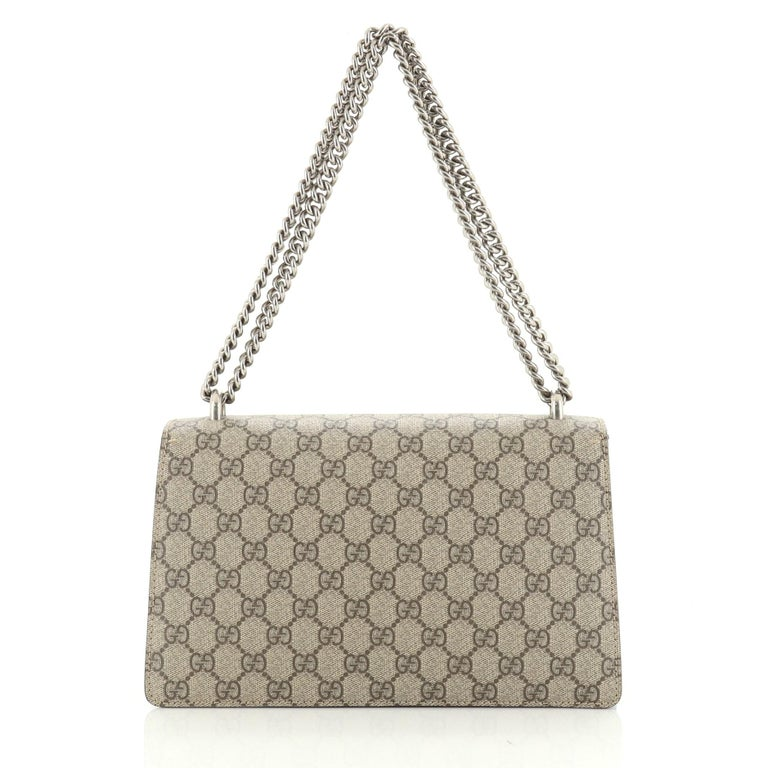 Women's or Men's Gucci Dionysus Bag GG Coated Canvas Small For Sale