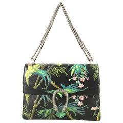 Gucci Dionysus Bag Tropical Print Leather Medium