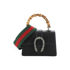 Gucci Dionysus Bamboo Top Handle Bag