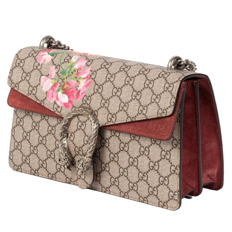 Brown Gucci Dionysus Bloom Small Shoulder Bag For Sale