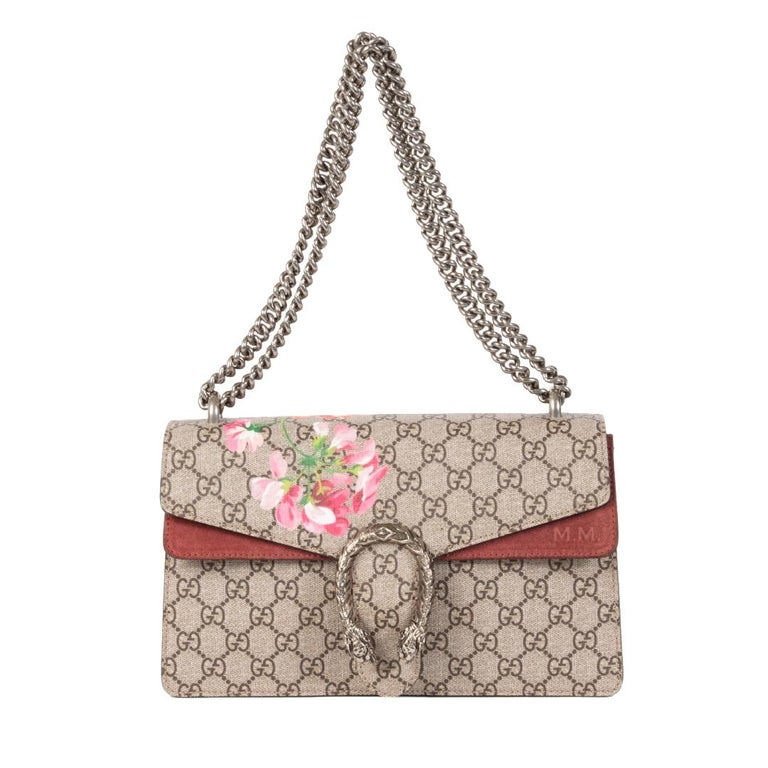 Gucci Dionysus Bloom Small Shoulder Bag In Excellent Condition For Sale In Antwerp, BE