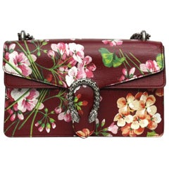 Gucci Dionysus Blooms Cherry Leather Shoulder Bag