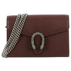 Gucci Dionysus Chain Wallet Leather with Embellished Detail Small