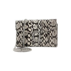 Gucci Dionysus Chain Wallet Python Small