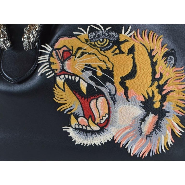 Gucci Dionysus Embroidered Maxi Leather Hobo Bag For Sale 1