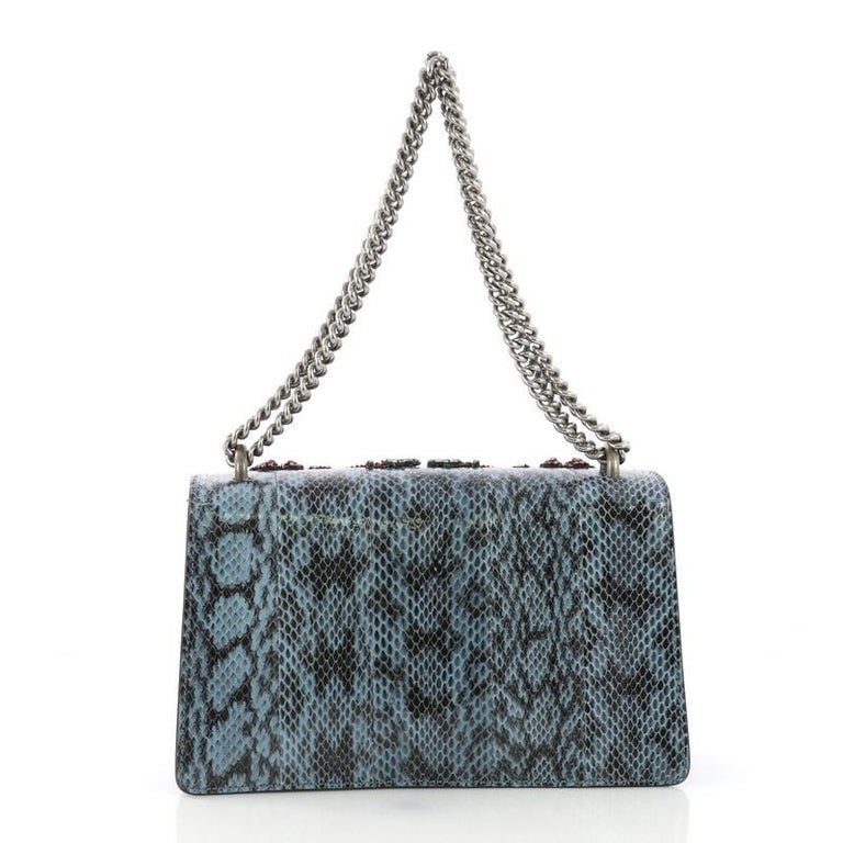 076e2bcb408 Gucci Dionysus Handbag Embellished Python Small In Good Condition For Sale  In New York
