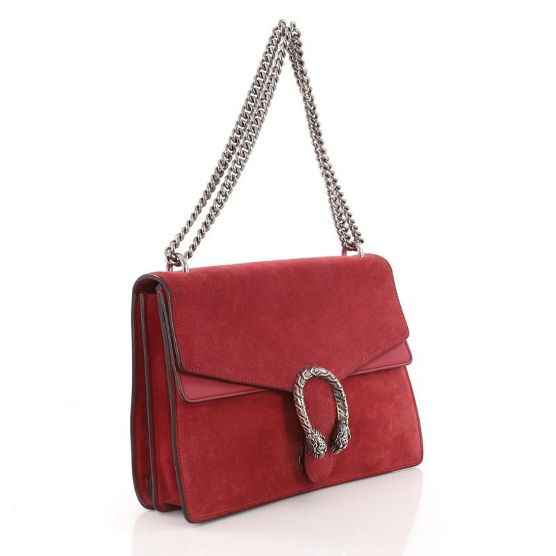 e8e0dacc490a Gucci Dionysus Handbag Suede Medium at 1stdibs